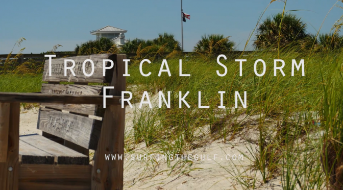 Surf Video From Tropical Storm Franklin