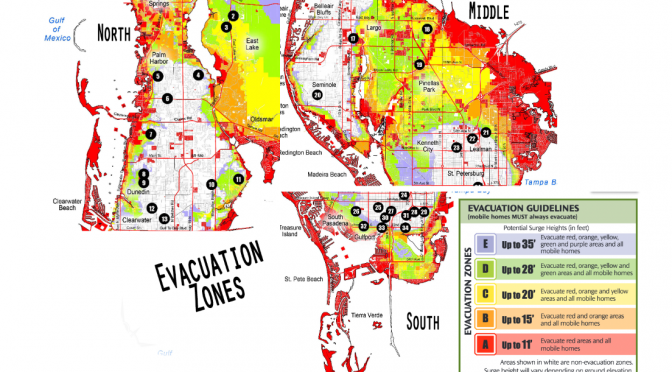Hurricane Irma Evacuations Pinellas County Level A B Mandatory: Pinellas County Flood Maps At Slyspyder.com