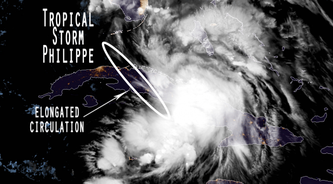 Tropical Storm Philippe: Will this be the last tropical system of Hurricane Season 2017?