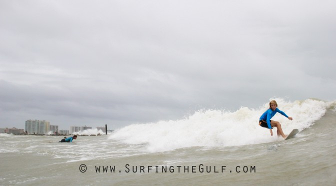 Tanner Jones Surfing Hurricane Hermine Picture Sequences
