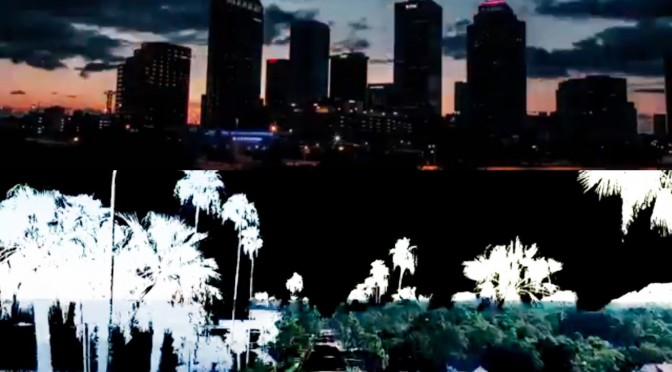 Rad Video Effects and Aieral Footage of Tampa Bay by Blane Arnold