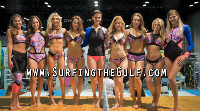 Body Glove girls at the Surf Expo_