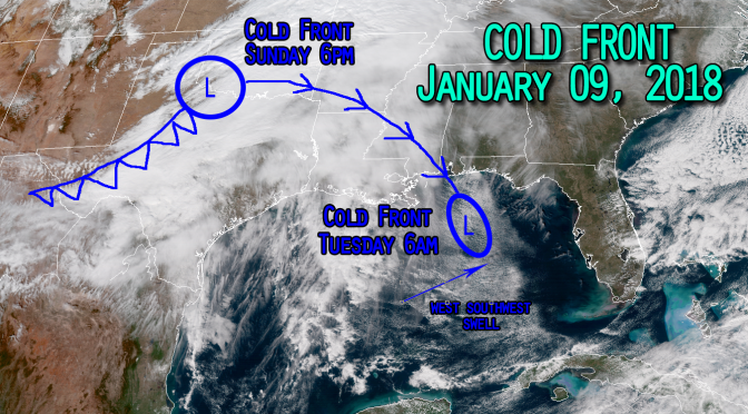 Weather Forecast: Another low pressure is dropping into the gulf.