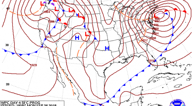 Cold Front on the Way: Thursday Evening/Friday Morning Surf Forecast